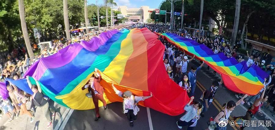 成人之美,台湾同志游行盛大登场